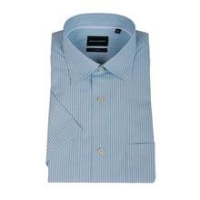 ChocoHoney Brief Sleeve Slim Males's Enterprise Shirt 2016 Autumn New Trend Designer Stable Male Match Formal Costume Mecerized Cotton