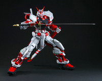 Free shipping Daban Gundam 1:60 PG Fighter ASTRAY Red Frame MBF P02