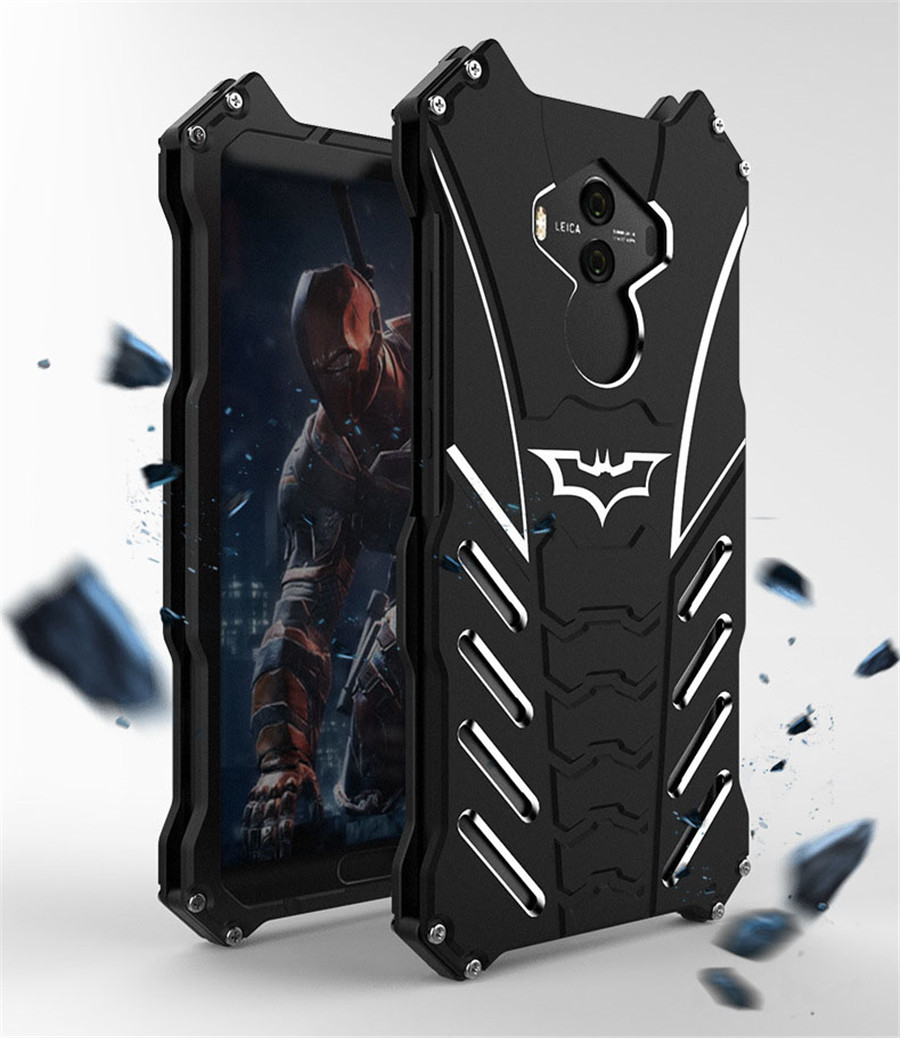 For HUAWEI Mate 10 Pro Case Original R-JUST Batman Armor Aluminum Metal For Huawei Mate 10 Lite Mate10 Case Shockproof Coque