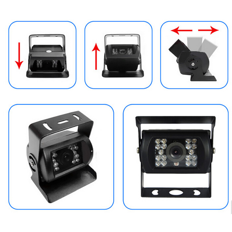 Easy Install Car Cigarette lighter Car Backup Camera Rear View IR Night Vision 7 TFT LCD Monitor Parking Assistance System