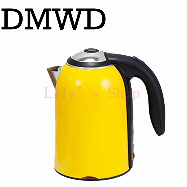 DMWD Portable mini Electric Kettle water thermal heating boiler ...