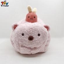 Sumikko Gurashi Bear Plush Tempura Toy Triver Stuffed Animal Doll San-X Tissue Box Case Napkin Paper Holder Home Shop Decor