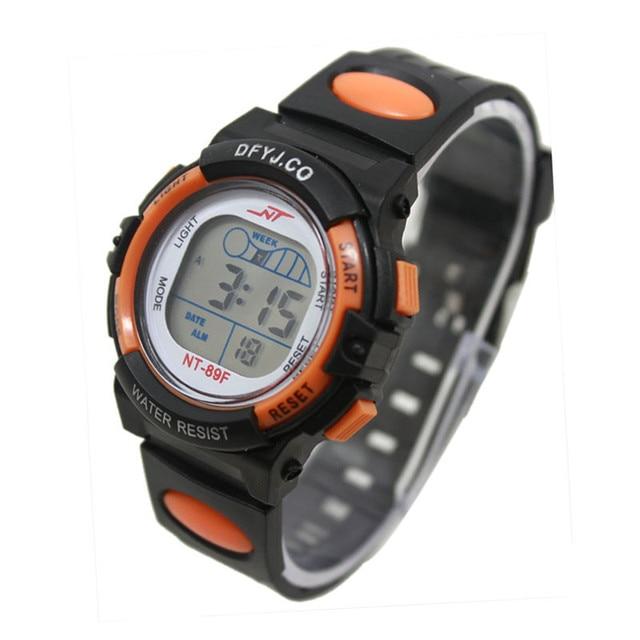 Children's watches Boy Girl Alarm Date Digital Multifunction Sport LED Light Wrist Watch Watchband Date Sport LED Light Wrist