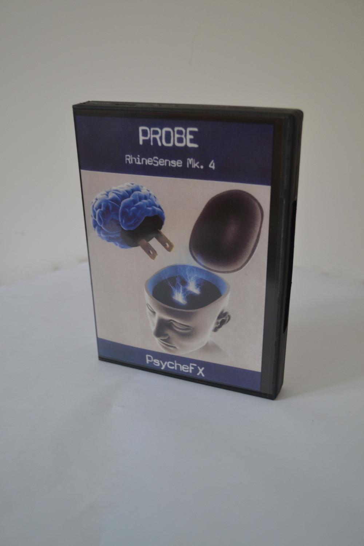 Sonde RhineSense Mk. 4 (version carte ESP + DVD)-tours de magie, rue, mentalisme, Gimmick, comédie, haute qualité