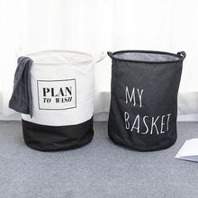 Big Foldable Clothes Laundry Basket Hamper, Colorful Waterproof  Cotton Linen Toys Sundries Closet Storage Box Holder Organizer