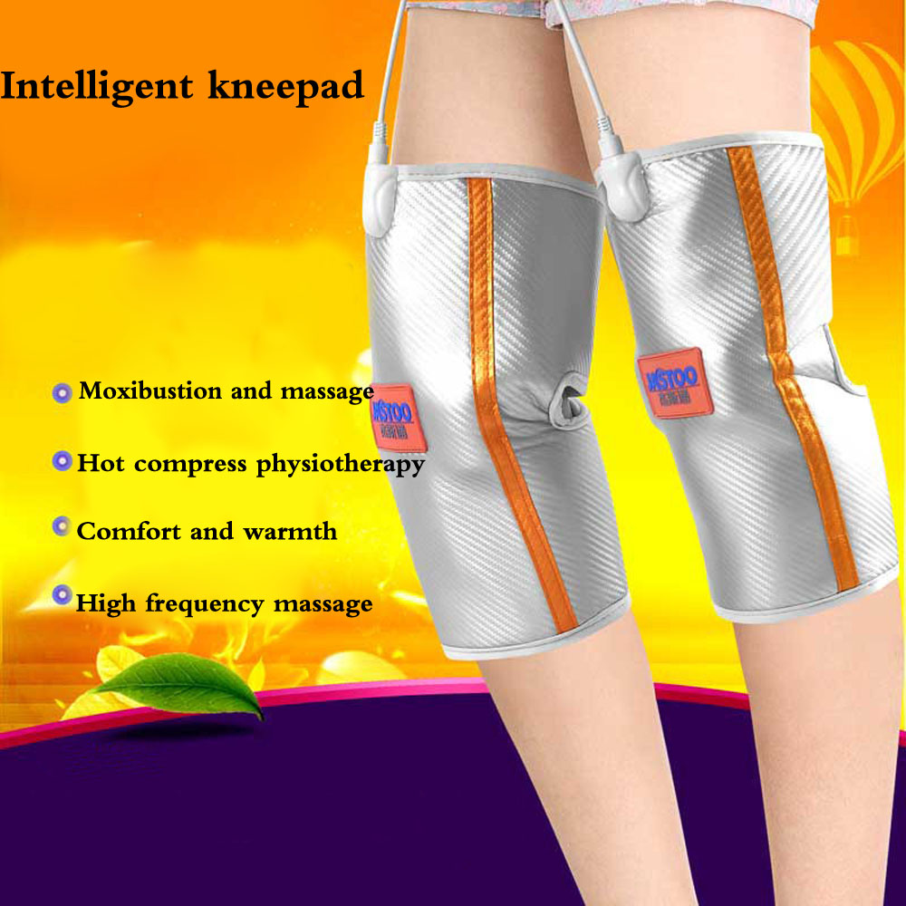 цены на Health Care Electric Heating Knee Pads Far Infrared Magnetic Therapy Arthritis Rheumatism Adjustable Temperature for Joint pain в интернет-магазинах