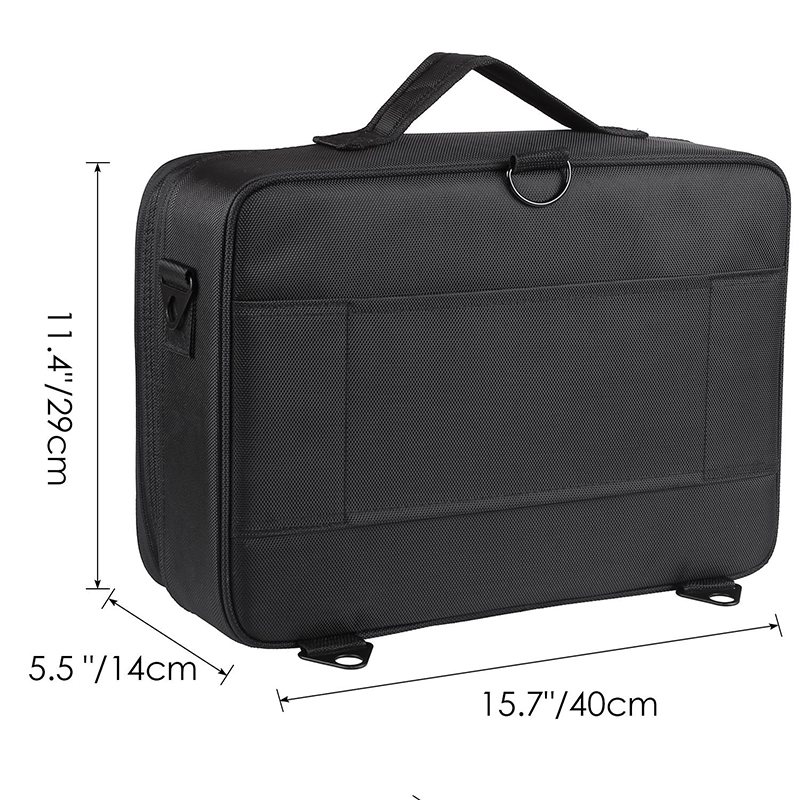 LHLYSGS Brand Cosmetic Case Suitcases Multi-storey Large Professional Makeup Bag Women Beauty Storage Organizer Cosmetic Bag