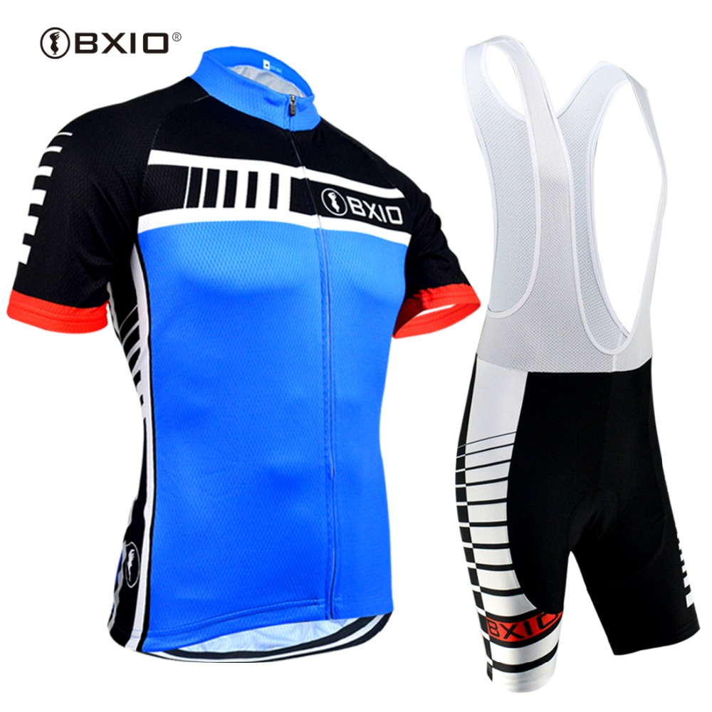BXIO 2020 Cycling Jersey Sets <font><b>Short</b></font> Sleeve Pro Bicycle Clothing Custom Fitness Clothes Vetement <font><b>Velo</b></font> Abbigliamento Ciclismo 094 image