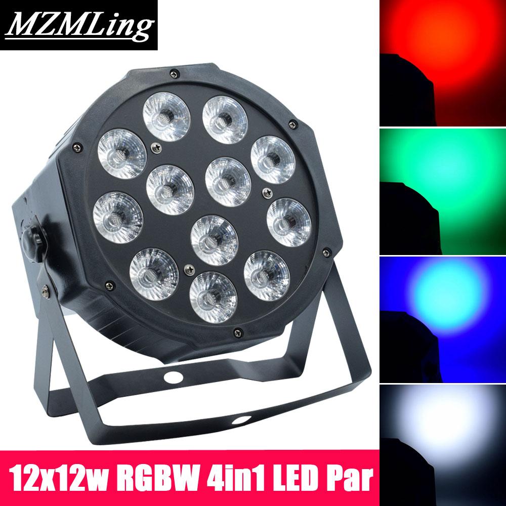 12x12w RGBW 4in1 LED Par Light Professional DJ /Bar /Party /Show /Stage Light LED Stage Machine led 3x5w spot light dmx512 effect light professional dj bar party show stage light led stage machine