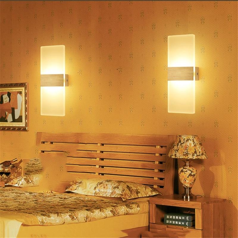 Lâmpadas de Parede da parede de acrílico sala Sombra : sem Sombra