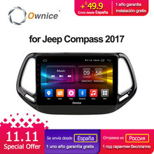 Ownice C500+ G10 Android 8.1 Car GPS navigation DVD player head unit for JEEP Compass 2017 mirror link player unit autostereo 2G