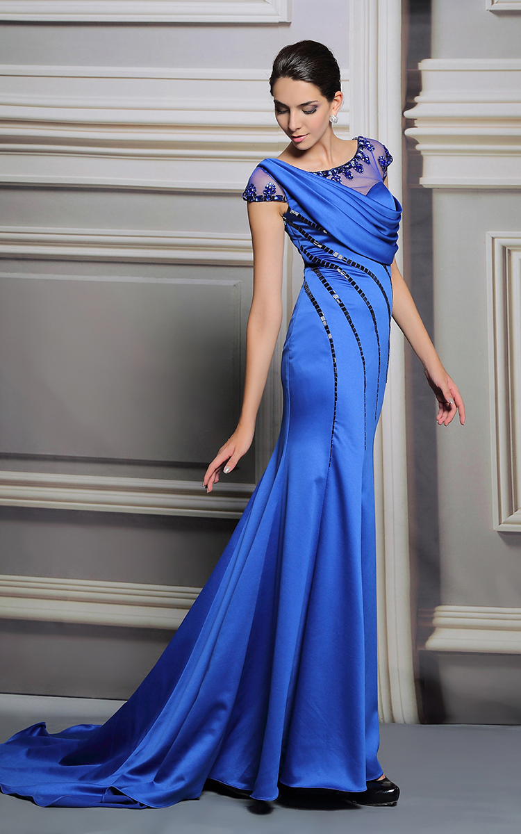 Aliexpress.com : Buy Beaded Evening Dress Malaysia The Short ...