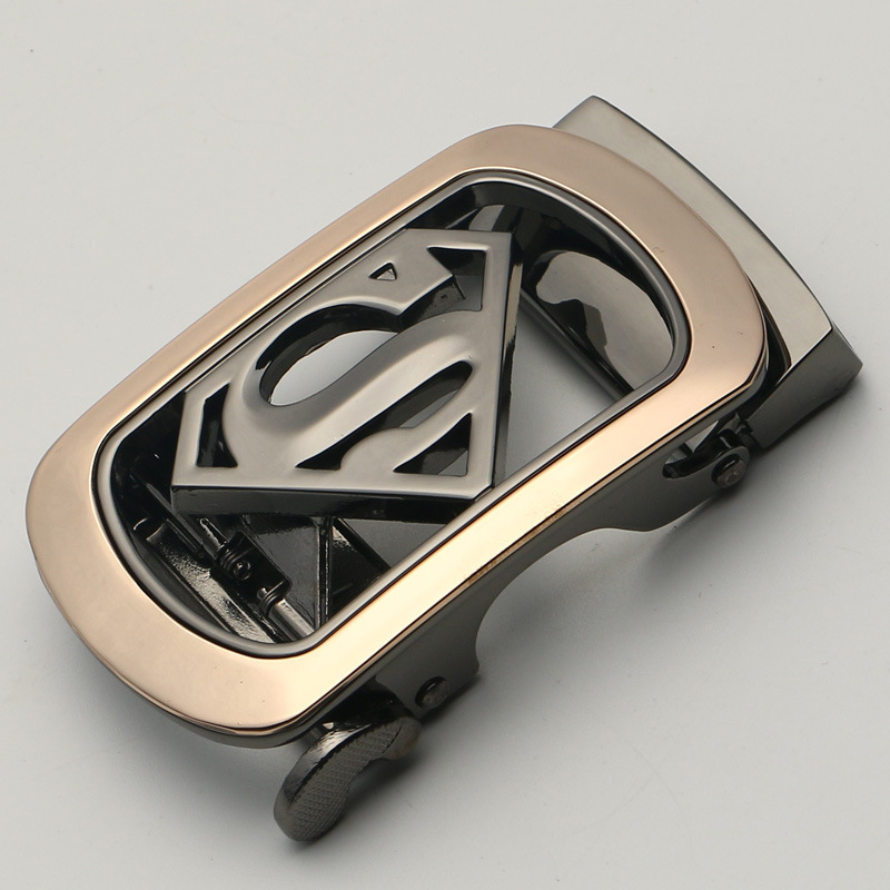 Automatic buckle for belt Alloy Unique Plaque Apparel Accessories 3.5cm belt buckle tactical materials Semi finished product