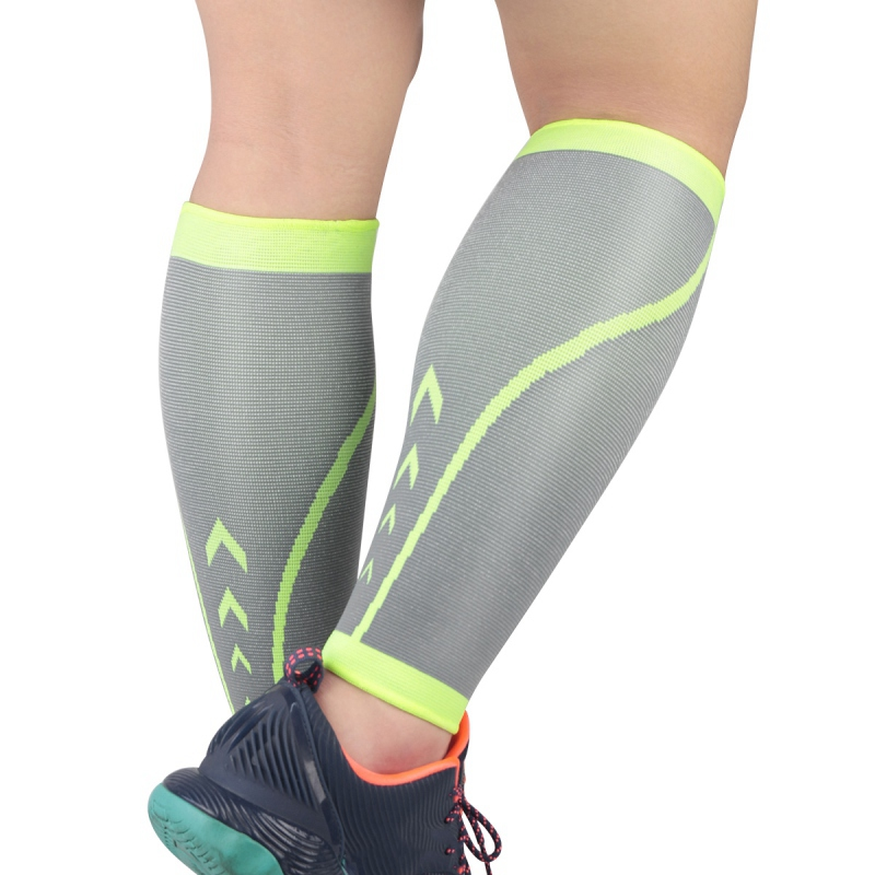 One Leg Sleeve Knit Compression  Soft Antiskid Comfortable Elastic Breathable Men Women Pain Relief Cycling Leg Warmers