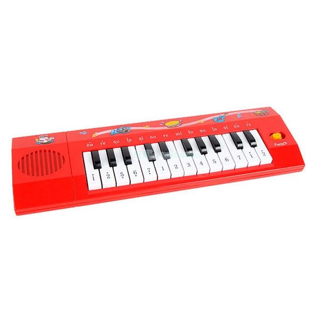Piano infantil Teclado Musical Educacional Developmental Bebê Crianças  Formação Toy teclado instrumento musical grande 8fbdde8895