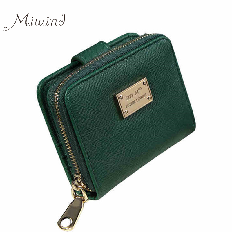 Luxury Minimalist Short Zipper Women Wallet Lady Clutch Brand Leather Purse Small Bag Female Coin Credit Card Holder Portomonee 2017 genuine cowhide leather brand women wallet short design lady small coin purse mini clutch cartera high quality