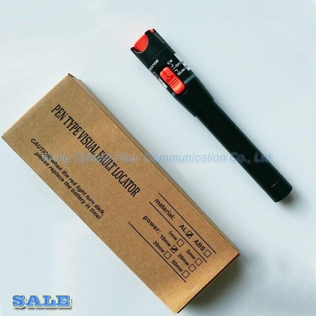 King Honest VFL detector de fallas visuales, fibra óptica de 10 km, pluma con salida pw: >10mW, localizador visual de fallos