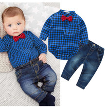 Newborns Baby Clothes Rompers Shirts Jeans