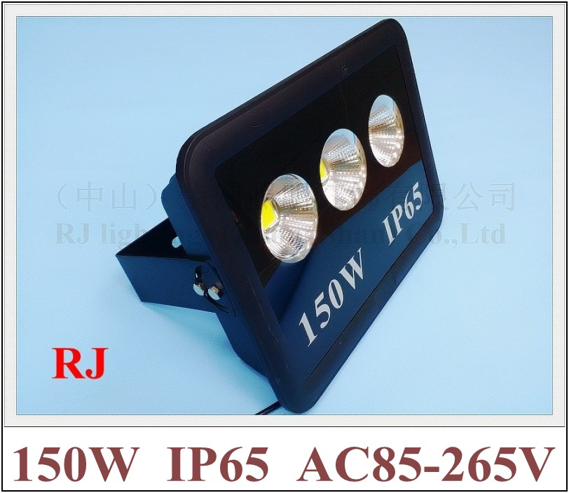 new design with cup style reflector LED flood light floodlight spot light lamp 150W (3*50W) AC85-265V 12000lm
