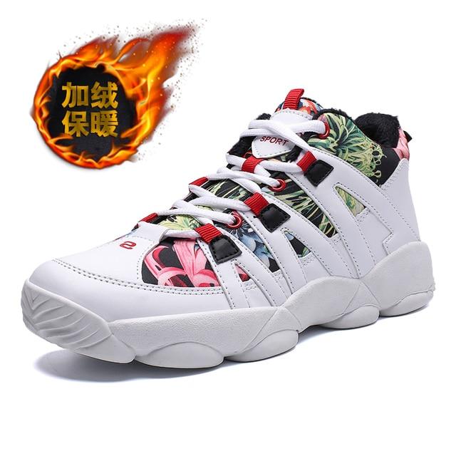 White Red Black cross training shoes 5c64faf36e283
