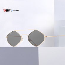 Samjune 2019 New Polygon Sunglasses Women Men Brand Designer