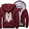 Winter Hoodie For Men Fleece Thick Sweatshirt  2
