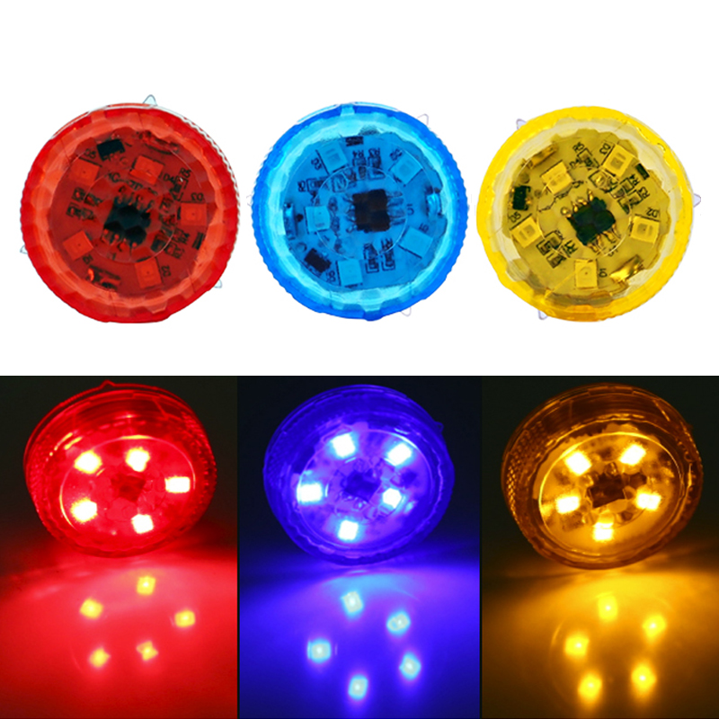 2pcs Car-styling 3 Color Car Door Warning Lamp Safety Strobe Light Traffic Signal Lamp Anti-collid Police Light Stickers on Cars
