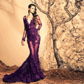 Luxury Long Evening Dress 2016 New Arrival Formal Dresses Party Evening Elegant Gown Long Sleeve vestidos de festa vestido longo