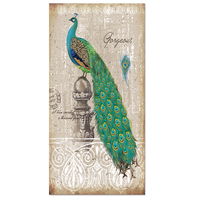 Visual Art Decor Classic Style Peacock Painting Canvas Art Print Bird Picture Giclee Print DIY Canvas