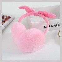 Ms MinShu Girl S Cut Earmuffs Real Rex Rabbit Earmuffs Women Earflap Cute Ladie S Ear