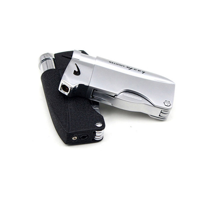 Torch Turbo Pipe Lighter Jet Butane Tobacco Cigar Lighters Gas Cigarette 1300 C Spray Gun Fire Windproof Multifunction Lighter