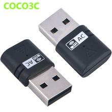 Dual Band AC 600Mbps USB WiFi Dongles 2.4Ghz 5Ghz AC600 Wireless-N Network Adaptor USB2.0 Wireless Gigabite Speed Dongle