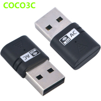 Dual Band AC 600Mbps USB WiFi Dongles 2.4Ghz 5Ghz AC600 Wireless-N Network Adaptor USB2.0 Wireless Gigabite Speed Dongle