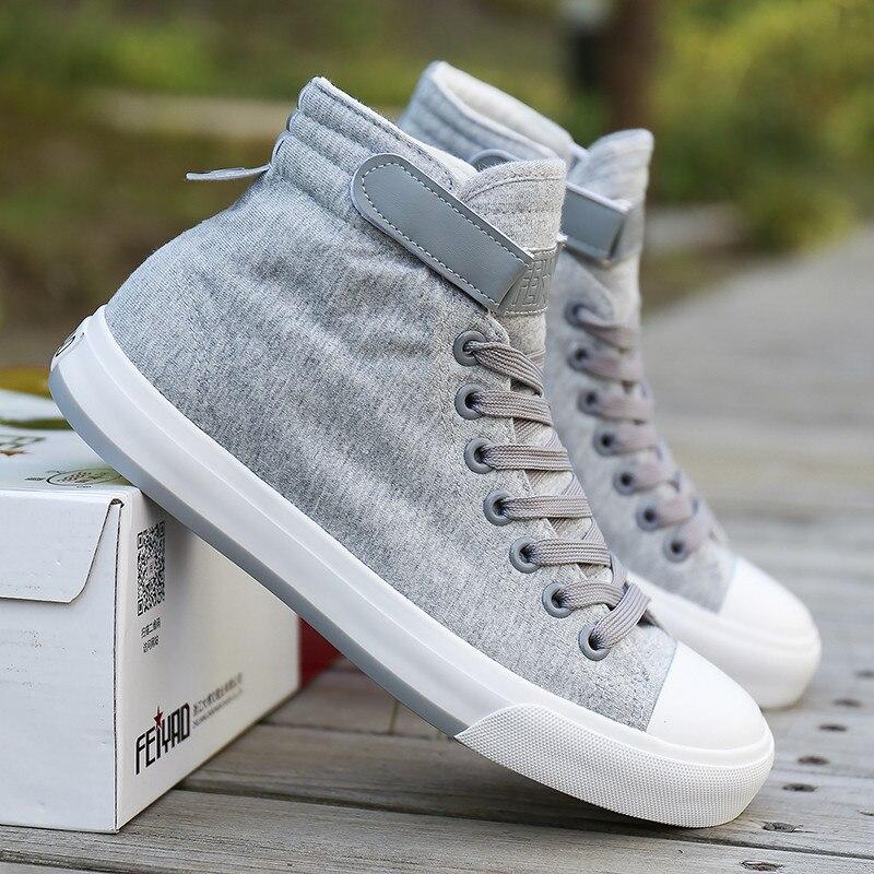 Noir 2018 Boucle Noir Mode D'été gris blanc Toile Casual Homme Printemps Chaussures assorties Nouveau Hommes Espadrilles Marque Haute Sneakers De top F4PrwFqxnv