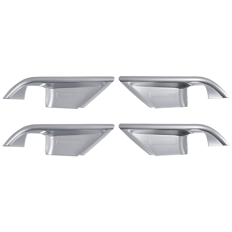 ABS MATTE Interior Accessories Inner Door Handle Bowl Frame 4PCS  for Toyota Camry XV70 2018 2019