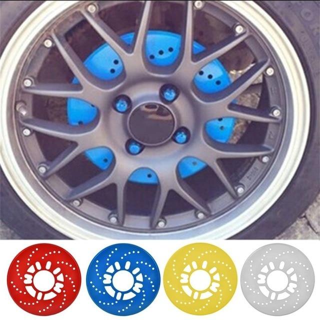 Aluminum Alloy Automotive Wheel Disc Brake Cover For Car Modification Brakes Sheet Auto Wheels Plate Rear Drum