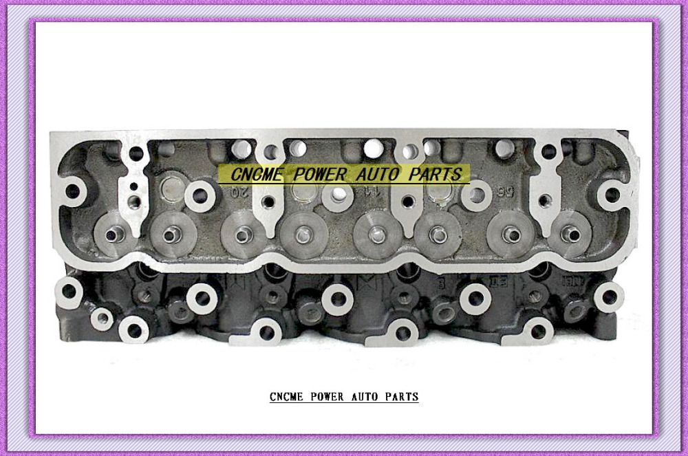 4JA1 4J41 2.5L Cylinder Head 8 94125 352 6 8 94431 520 4 For ISUZU Campo Trooper 2499CC 2.5D 8v 93MM 1988 8941253526 8944315204