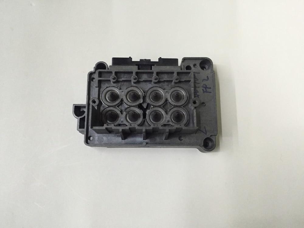 Solvente F189000 DX7 cubierta del cabezal xenons Wit color smartcolor micolor xroland impresora dx7 adaptador manifold