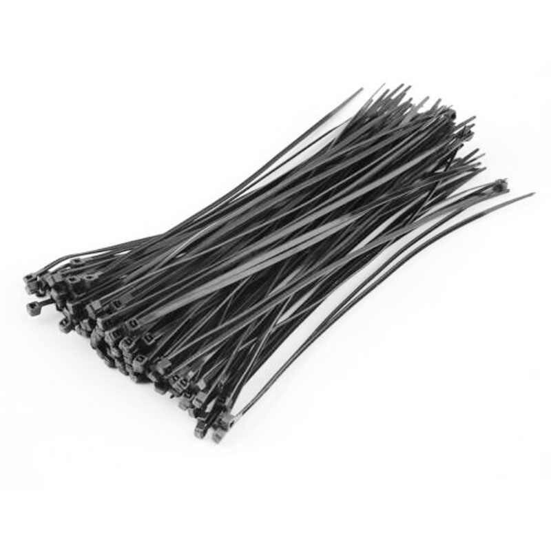 100 unids/set plástico Cable Zip Tie sujetar envoltura 100mm x 3mm Nylon plástico Cable organizador Zip Tie cordón Correa V4318