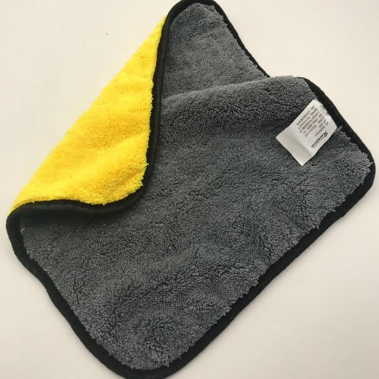 1 шт. супер абсорбирующее полотенце из микрофибры для мытья автомобиля, ткань для чистки автомобиля, уход за автомобилем, микрофибра, полировочное полотенце