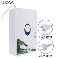 LUCOG 600mg/h Ozone Generator Ozonator Air Purifier Wheel Timer Vegetable Fruit Meat Air Ionizer Sterilizer 220V or 110V