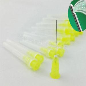 Image 4 - Ponta da agulha da irrigação de endo dental de 150 pces 25g/27g/30ga 30g extremidade fechado lado furo endo pontas da seringa