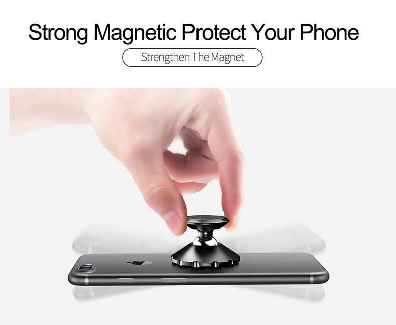 Knowledgeable Magnetic Car Phone Mount Holder Universal Wall Desk Metal Magnet Sticker Mobile Stand Phone Holder Car Mount Support For Iphone Mobile Phone Holders & Stands Mobile Phone Accessories