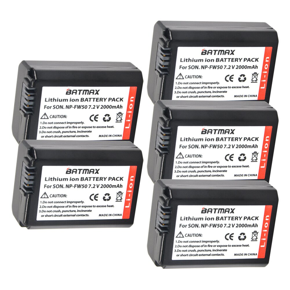 5Pcs 2000mAh Bateria NP-FW50 NPFW50 NP FW50 Batteries for Sony NEX-5 NEX-7 SLT-A55 A33 A55 A37 A3000 A5000 A51000 A6000 Cameras minoli daniel information technology risk management in enterprise environments a review of industry practices and a practical guide to risk management teams