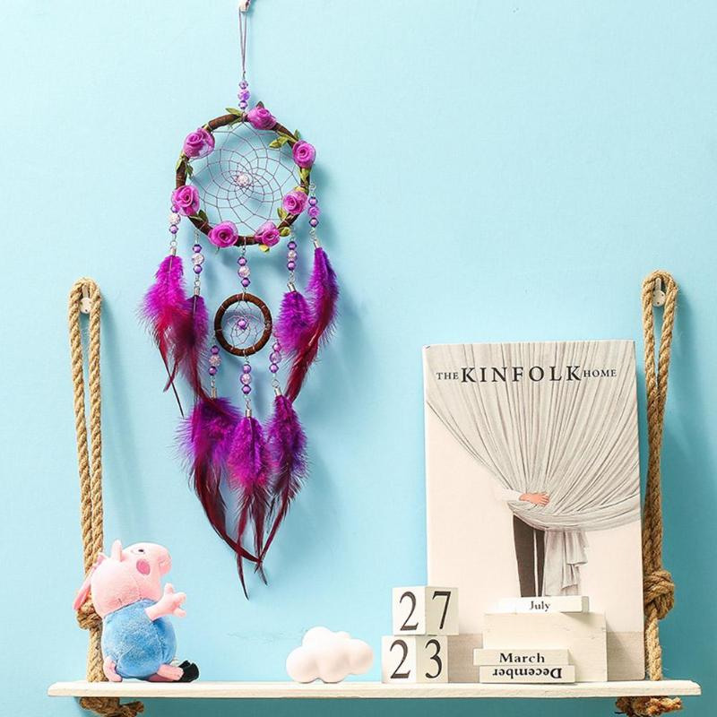 Buy purple dream catcher and get free shipping on aliexpress mightylinksfo