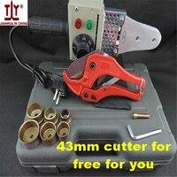 Free Shipping Plumber tool 20 32 220V/110V 600W Temperature control hot melt machine ppr pipe welding machine plastic pipe weld