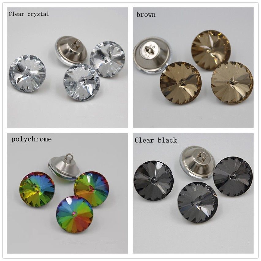 Apparel Sewing & Fabric Delicious Furniture Decorative Buckle 25mm Clear Color Satellite Drill Soft Package Acrylic Sofa Buckle Rhinestones Buttons Buttons