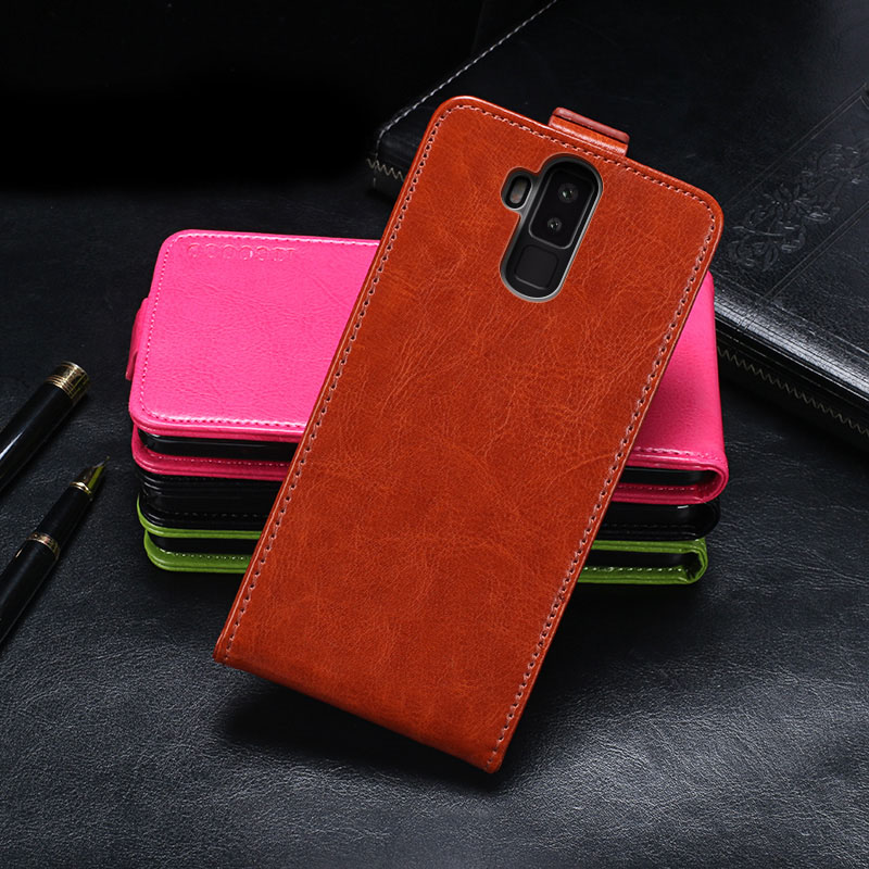 Vernee X Case Cover Luxury Leather Flip Case For Vernee X Protective Phone Case Back Cover