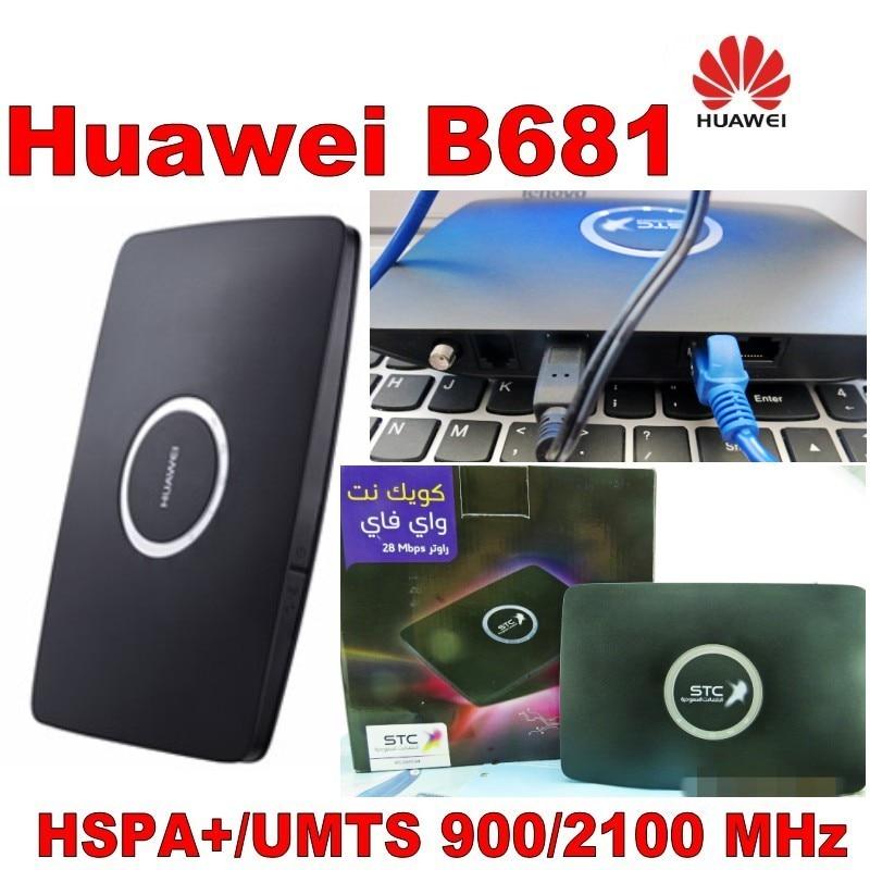 ბევრი 2% 100% ახალი huawei b681 lan - ქსელის აპარატურა - ფოტო 2