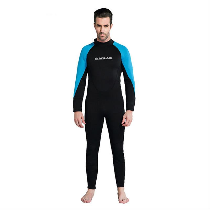 цена на Women Men Spearfishing Wetsuit 3mm Neoprene One Piece Swimsuit Dive Surf Swim Wet Suit Swimwear Long sleeve Beach Wear Triathlon